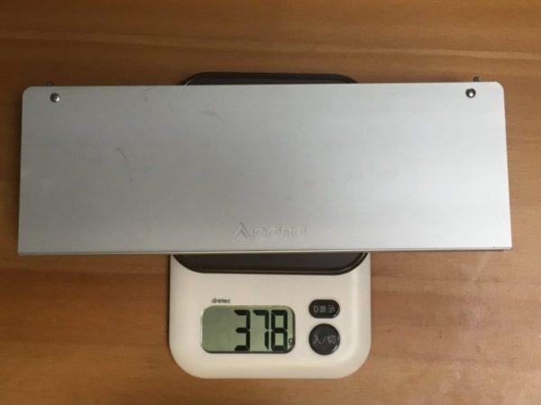 「SOTO フィールドホッパー」の重量