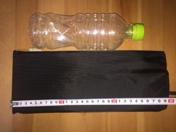「SOTO フィールドホッパー」収納時の横の寸法
