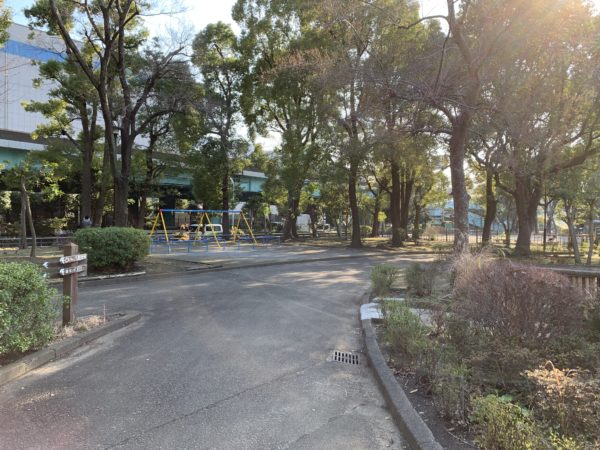 平和島公園の遊具
