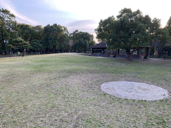 平和島キャンプ場のC面