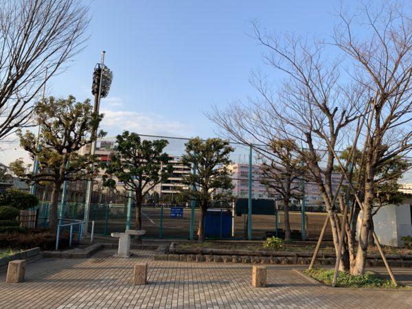 平和島公園の野球場