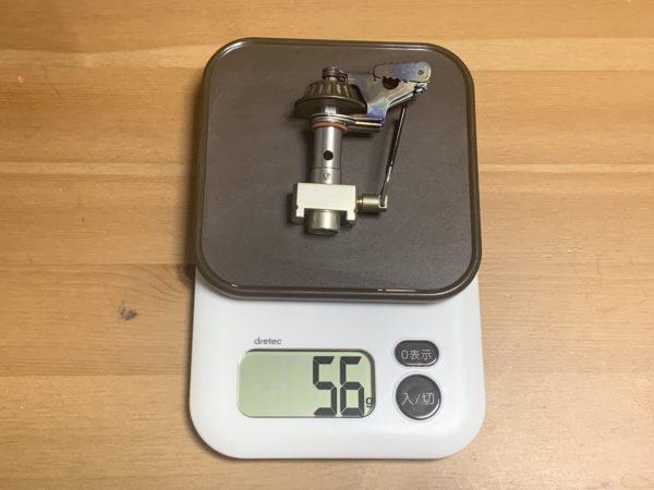 「マイクロマックス ウルトラライト」の重さを測る