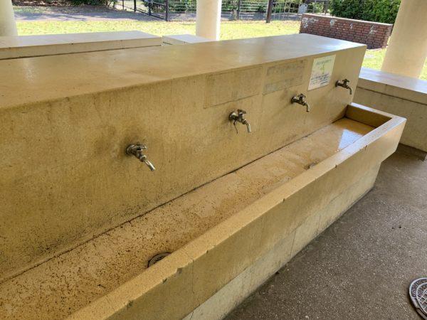 城南島海浜公園キャンプ場洗い場