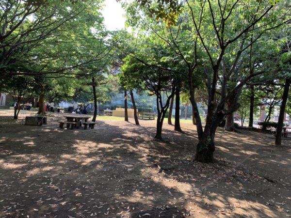 城南島海浜公園キャンプ場の模様2