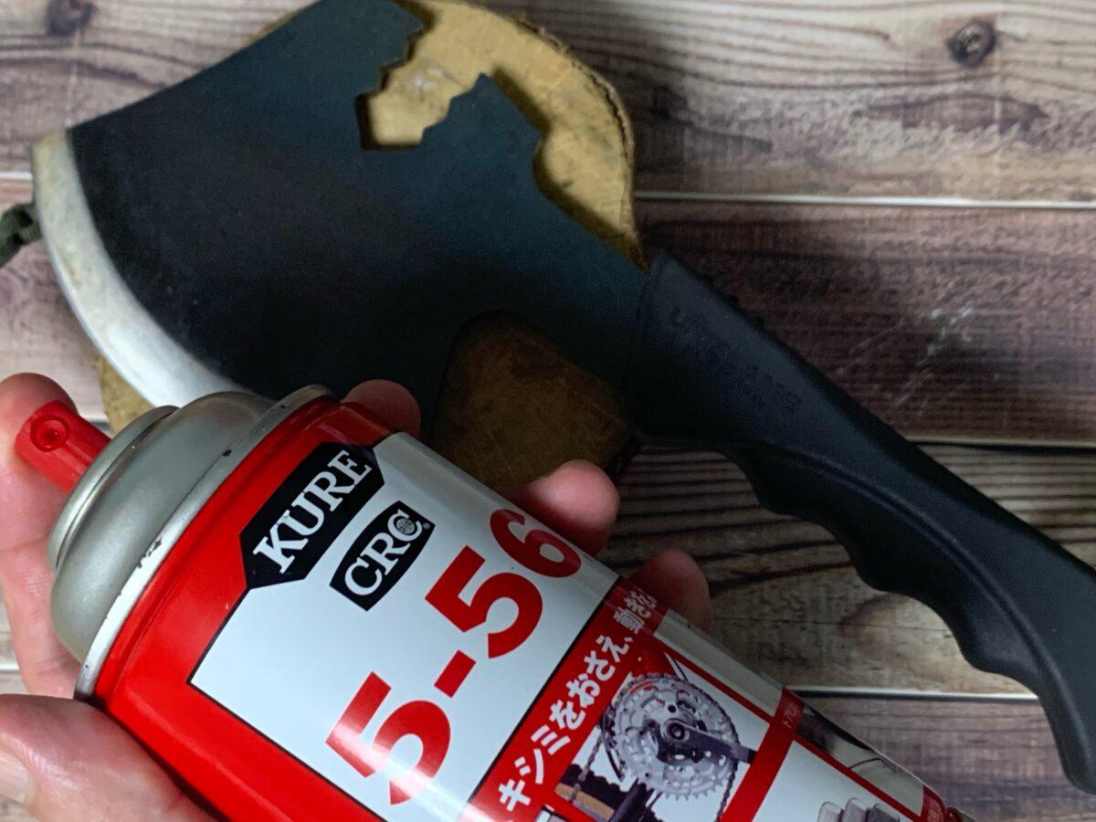 潤滑油をさした燕三条乃斧