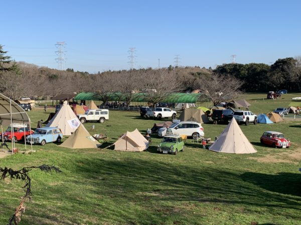 成田ゆめ牧場ファミリーオートキャンプ場の模様