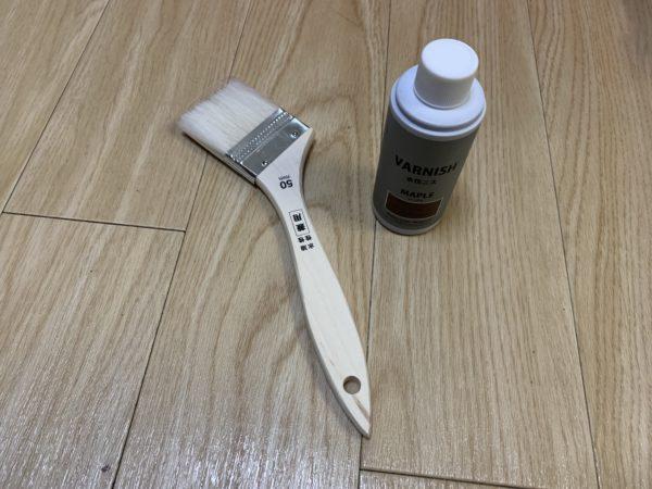 無印良品「頑丈収納ボックス」テーブル化グラデーション塗料