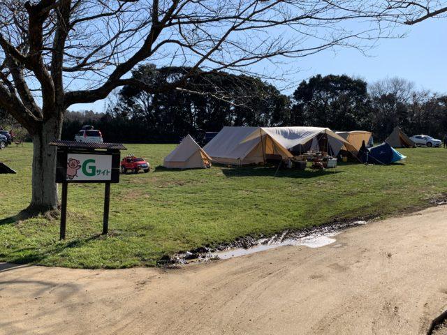 成田ゆめ牧場ファミリーオートキャンプ場Gサイト