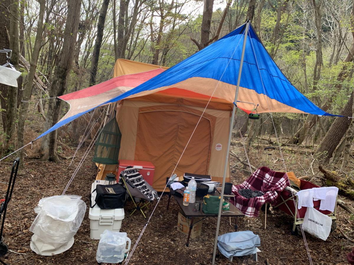 おしゃれを意識してない時のキャンプ