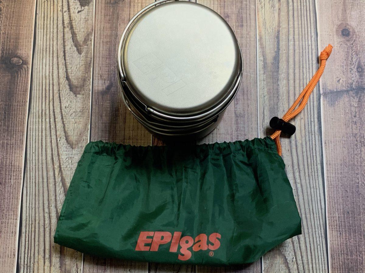EPIgas「バックパッカーズクッカーS」