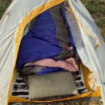 冬キャンプテントの中の寒さ対策