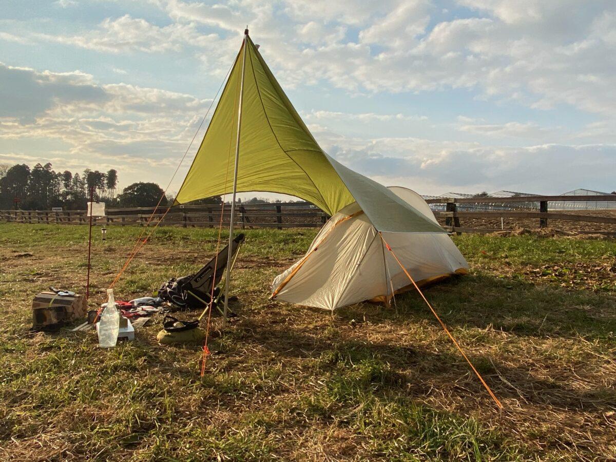 12月下旬のソロキャンプ