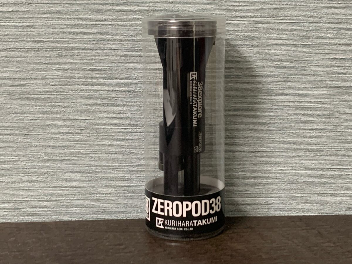 ケースに入ったZEROPOD38